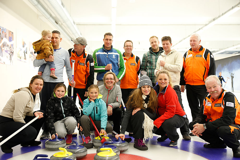 Olympische Curling Clinic Curlingbaan Zoetermeer